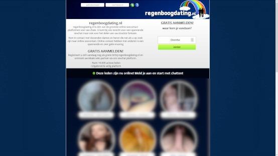 Regenboogdating website