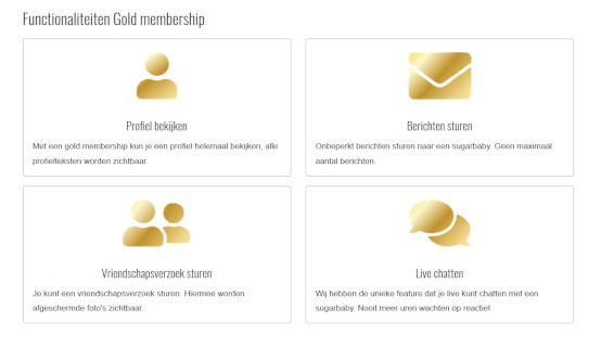 Seek for sugar Gold Membership
